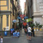 In der Innenstadt von Neapel