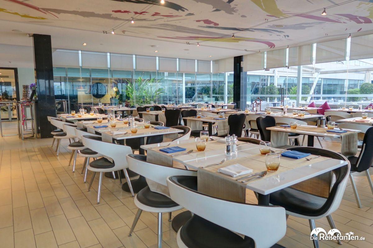 Restaurantbereich im Centara Watergate Pavillion Hotel Bangkok 2