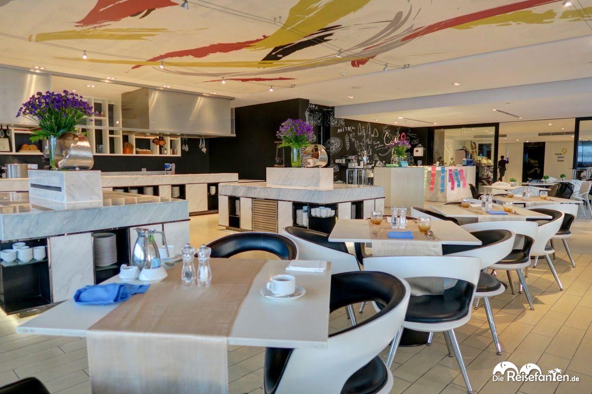 Restaurantbereich im Centara Watergate Pavillion Hotel Bangkok 3