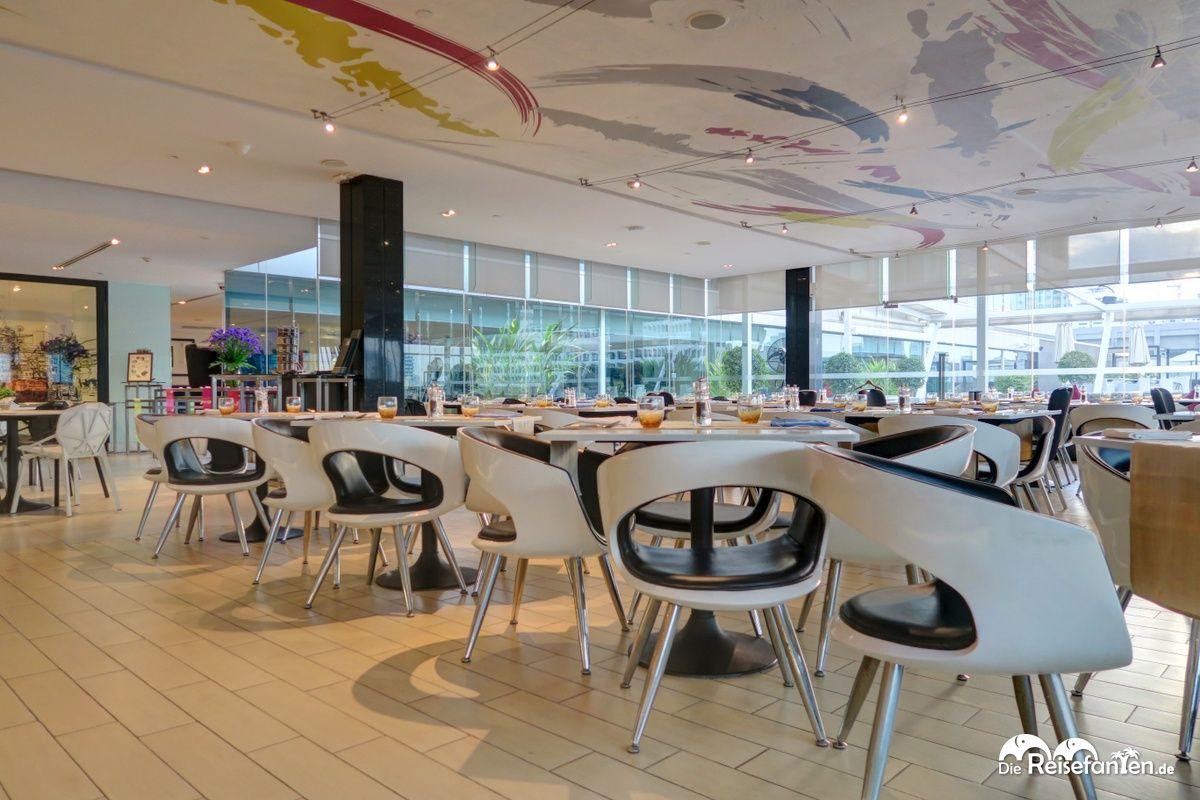 Restaurantbereich im Centara Watergate Pavillion Hotel Bangkok 4