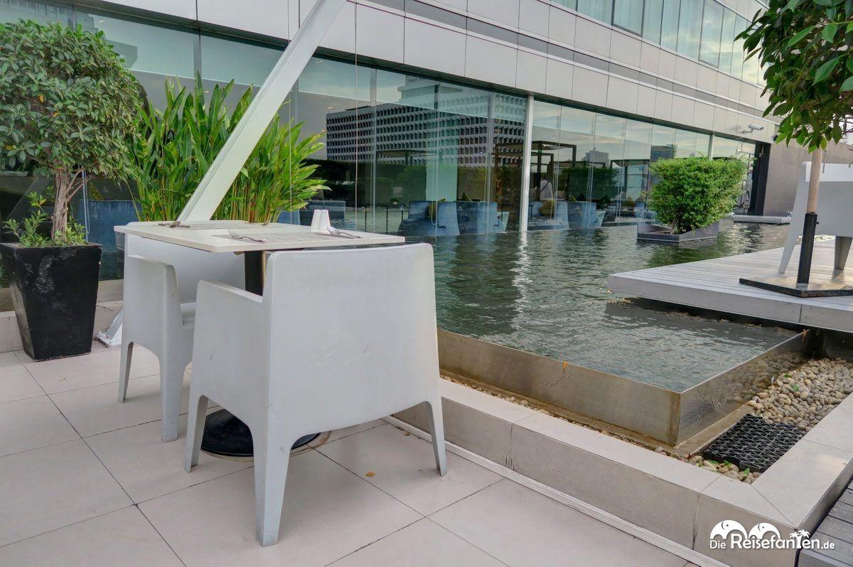 Außenbereich im Centara Watergate Pavillion Hotel Bangkok 1