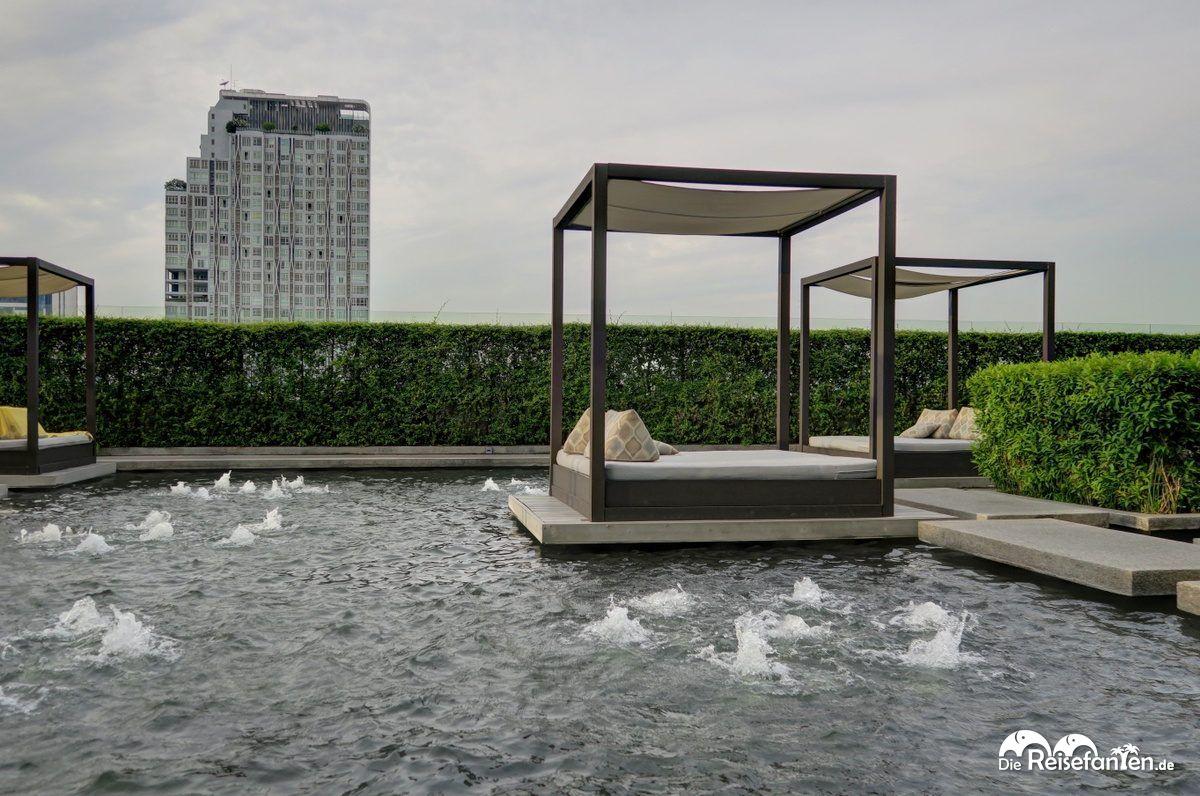 Außenbereich im Centara Watergate Pavillion Hotel Bangkok 3