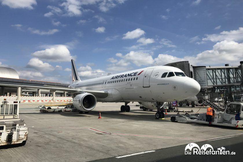Flugzeug von Air France