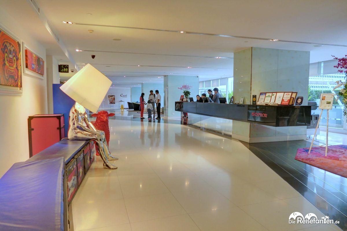 Lobbybereich im Centara Watergate Pavillion Hotel Bangkok 4