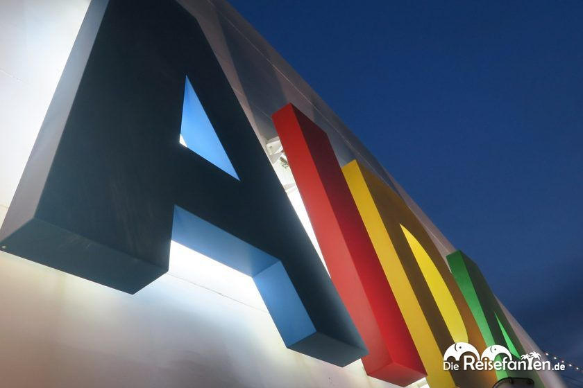 Logo der Reederei AIDA