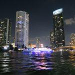 Unterwegs zum Asiatique Nachtmarkt in Bangkok