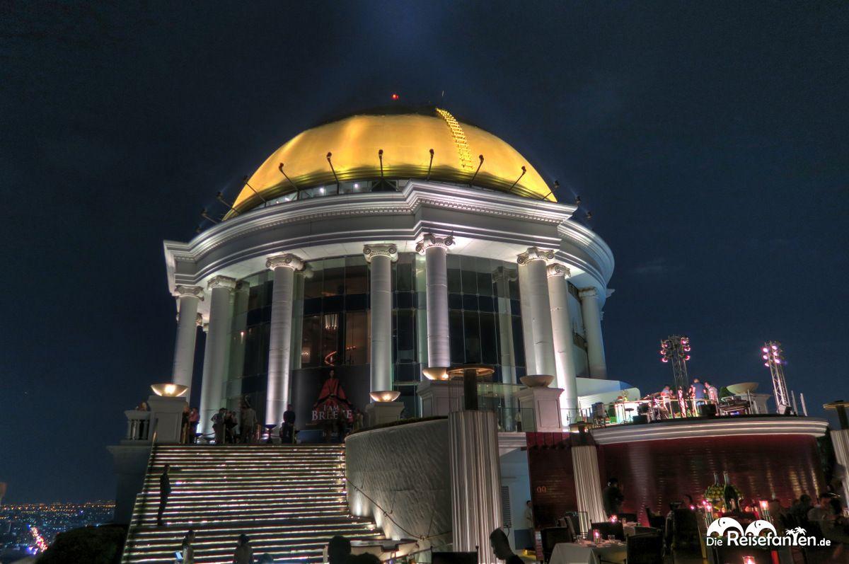 Bekannt aus Hangover ist die Sky Bar im Lebua in Bangkok