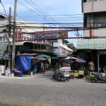 Eingang zum Markt von Nonthaburi