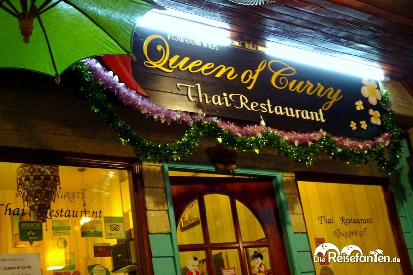 Restaurant Queen of Curry in Bangkok