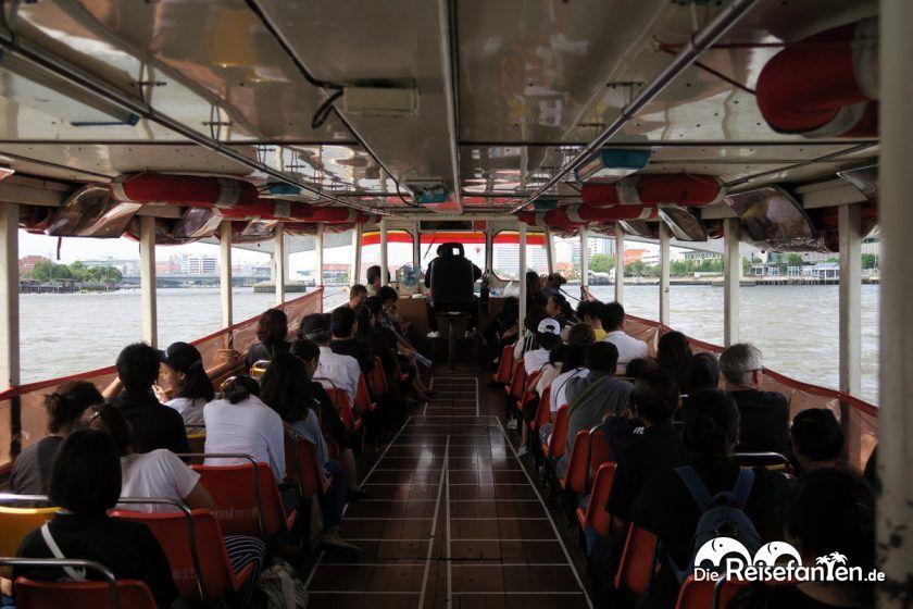 Auf dem Expressboot nach Nonthaburi