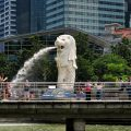 Die Merlion Variante in Singapurs Marina Bay.jpeg