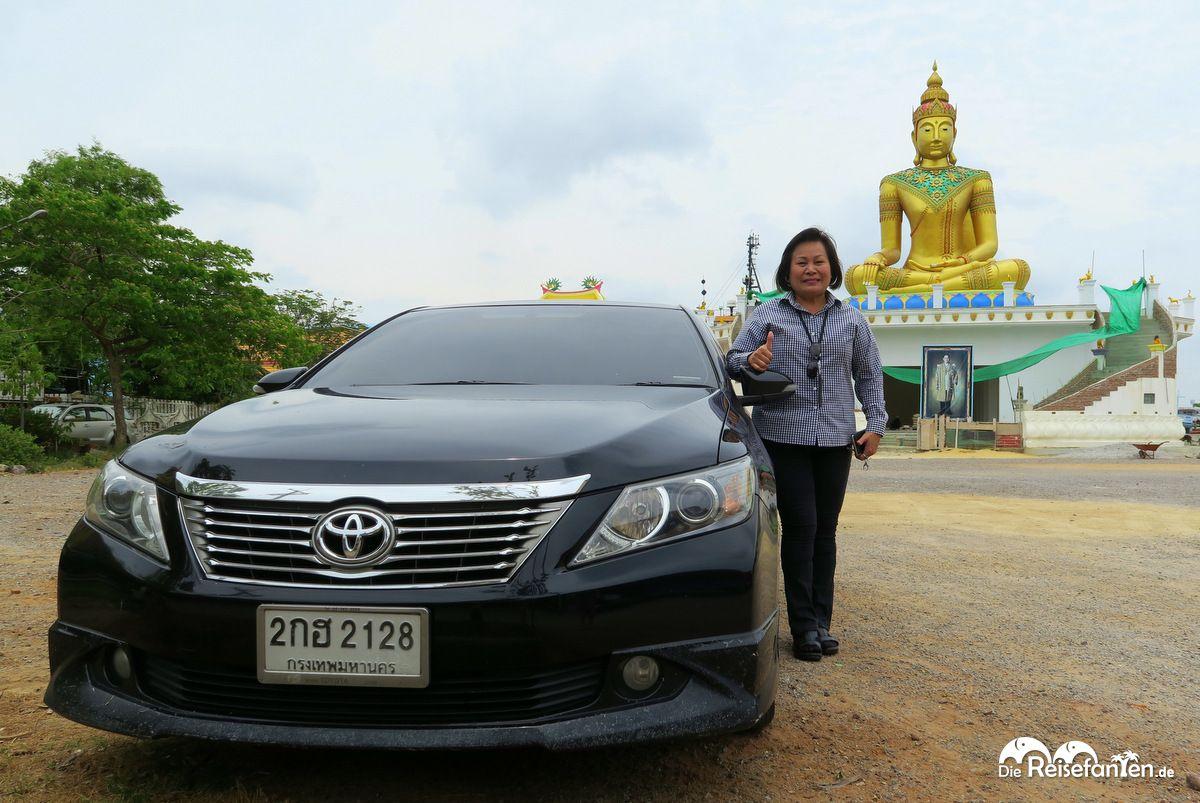 Mit Julie unterwegs in Thailand