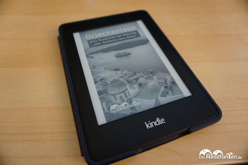 Das Titelbild des sechsten Reisefanten eBooks zu Griechenland