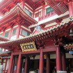 Der buddhistische Tempel in Singapurs Chinatown