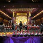 Ein buddhistischer Tempel in Singapurs Chinatown