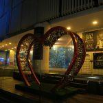 Liebesschlösser in in Singapur