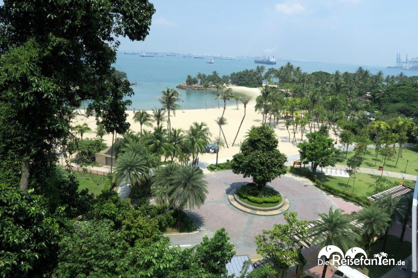 Sentosa Island vor Singapur