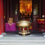 Tempel in Chinatown in Singapur