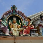 Tempel in Little India in Singapur