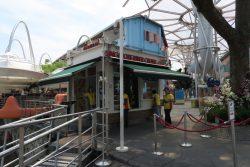 Verkaufsschalter der River Cruise in Singapur
