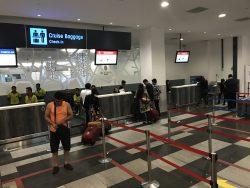 Am Terminal in Singapur