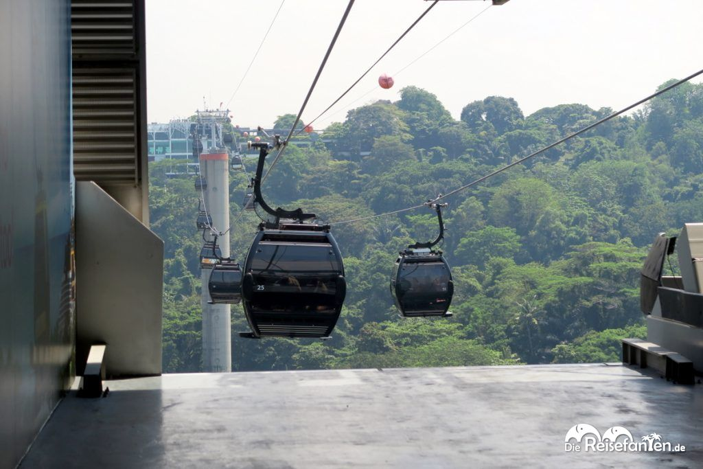 Die Singapur Cable Cars