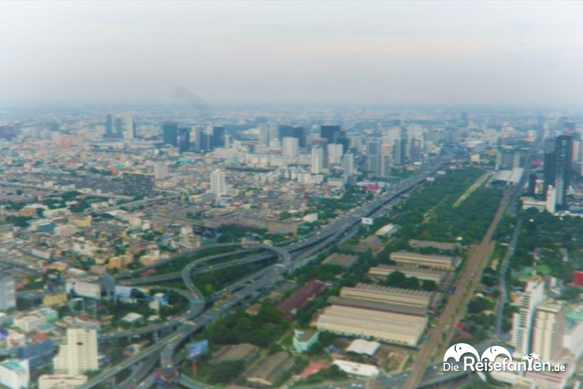 Video von der Aussichtsplattform des Baiyoke Tower 2 in Bangkok