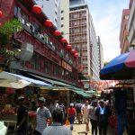 Auf der Petaling Street in Chinatown in Kuala Lumpur