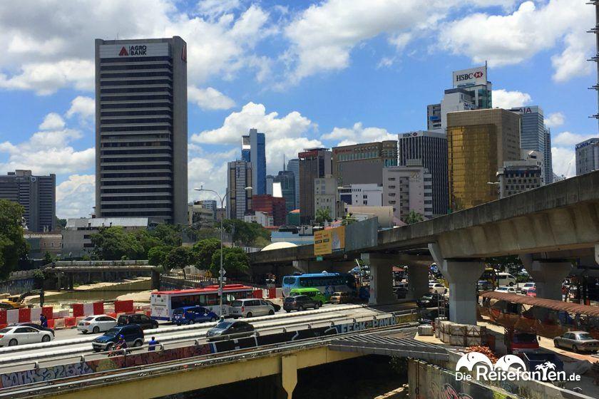Blick auf Kuala Lumpur