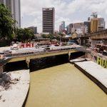 Der Fluss in Kuala Lumpur