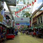 Die Petaling Street in Chinatown in Kuala Lumpur