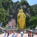 Eingang zu den Batu Caves in Malaysia