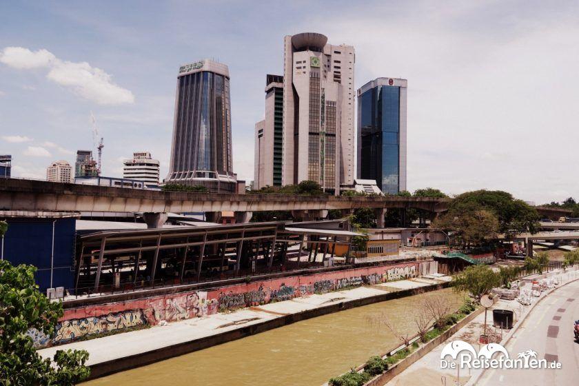Kontraste in Kuala Lumpur