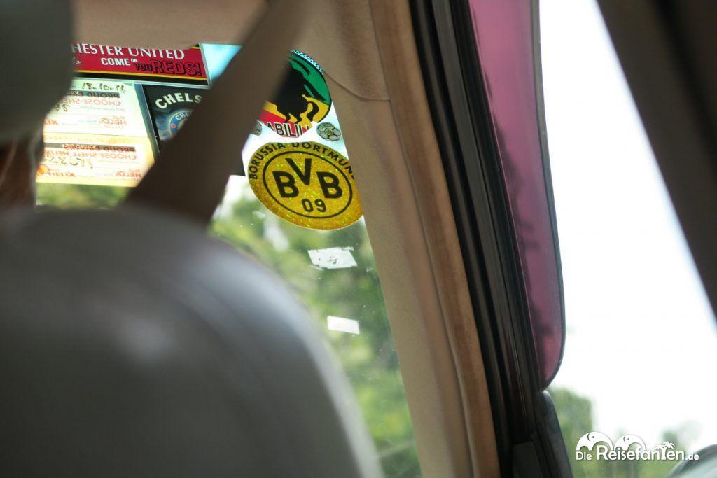 Im Taxi auf Langkawi