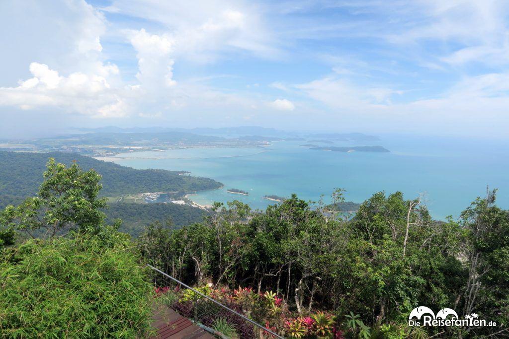Schöne Aussicht über Langkawi