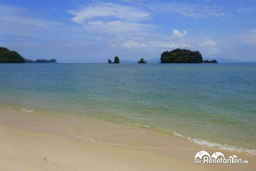 Tanjung Rhu Beach auf Langkawi