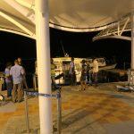 Auf der Flughafeninsel der Malediven