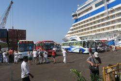 Ausflugsbeginn in New Mangalore