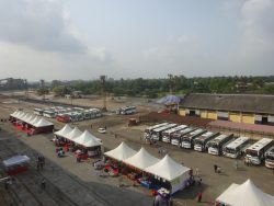 Das Kreuzfahrtterminal von Cochin