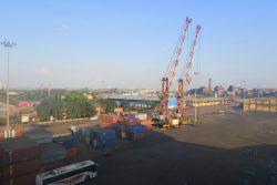 Der Industriehafen von New Mangalore