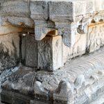 Eine Ecke im Tempel der 1000 Säulen
