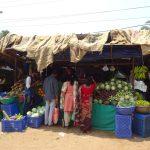 Gemüsestand auf dem Markt von Cochin