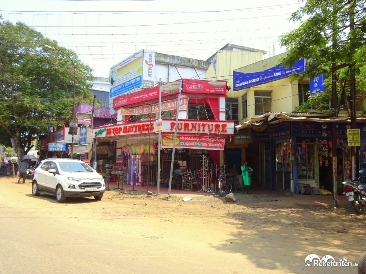In Cochin in Indien mit der AIDAbella