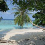 Malerisches Panorama im Bandos Resort auf den Malediven