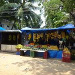 Obststand auf dem Markt von Cochin