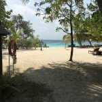 Strand im Bandos Resort auf den Malediven