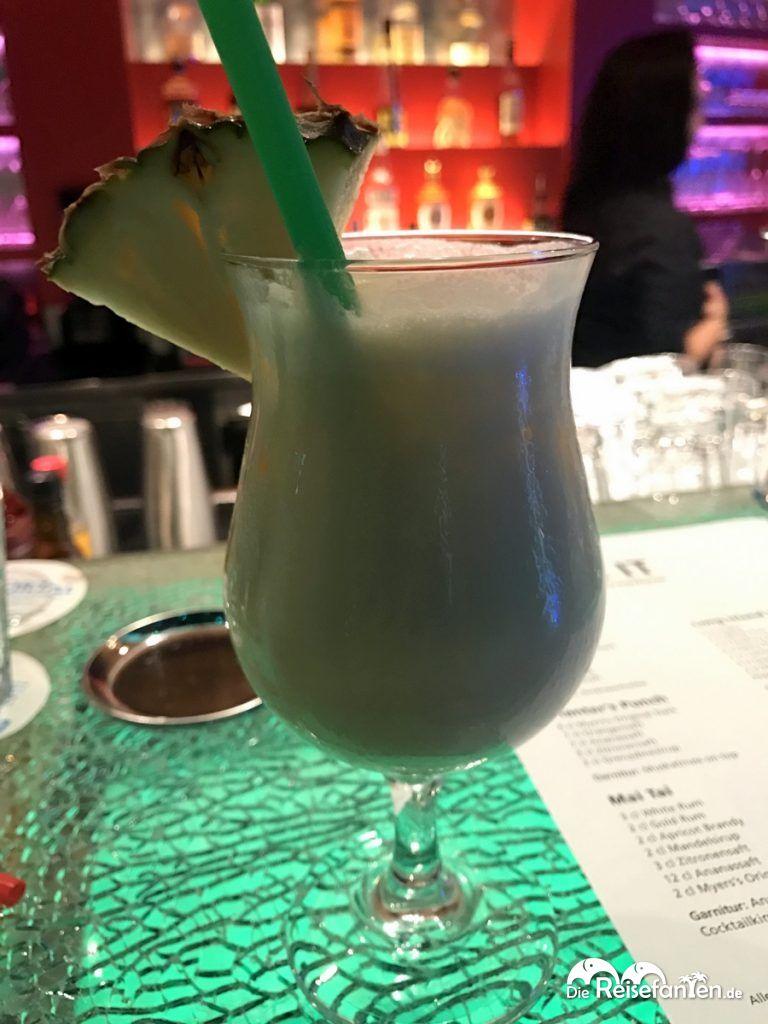 Cocktail im AIDA Cocktail Workshop