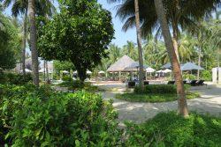 Pool im Bandos Resort auf den Malediven