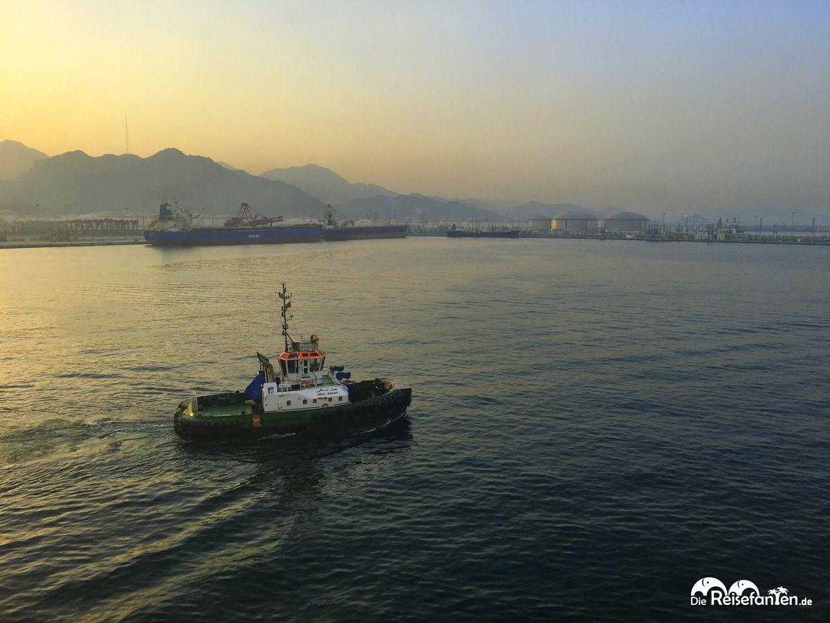 Der Hafen von Fujairah