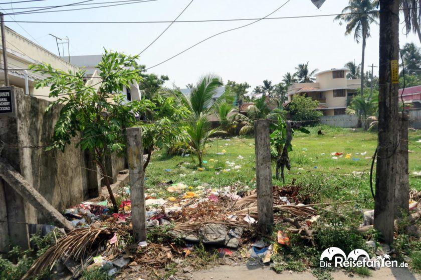 Grünfläche in Indien